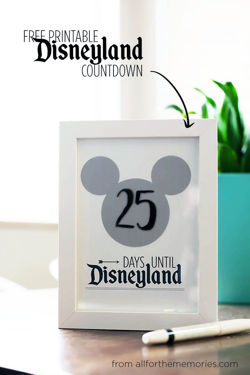 50 of the Best Ways to Count Down to a Disney Vacation