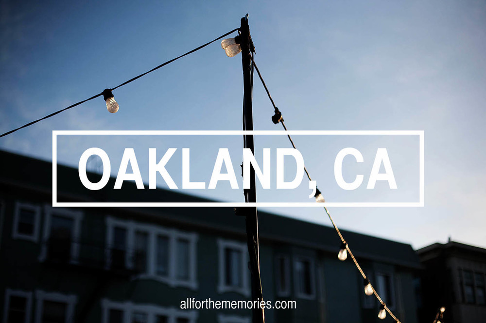 Travel to Oakland, CA from All for the Memories