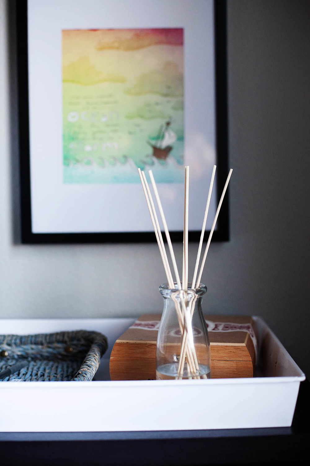 DIY Reed Diffuser with Essential Oils from All for the Memories