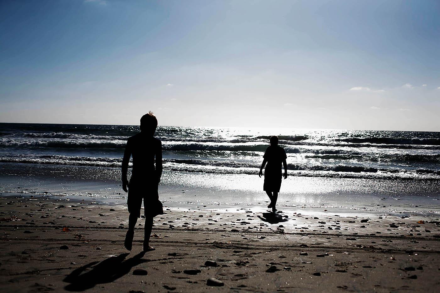 Carlsbad, CA beach