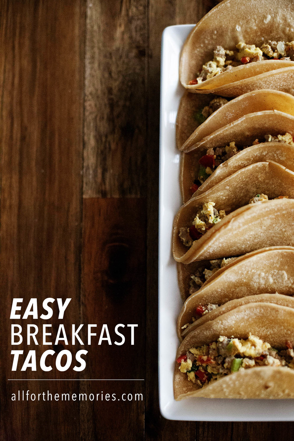 Easy breakfast tacos - gluten free