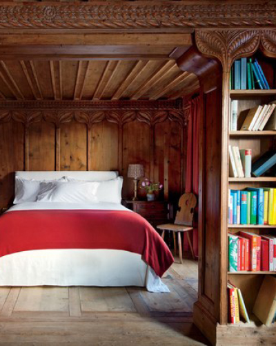 A bedroom in Switzerland(Photo: AD)