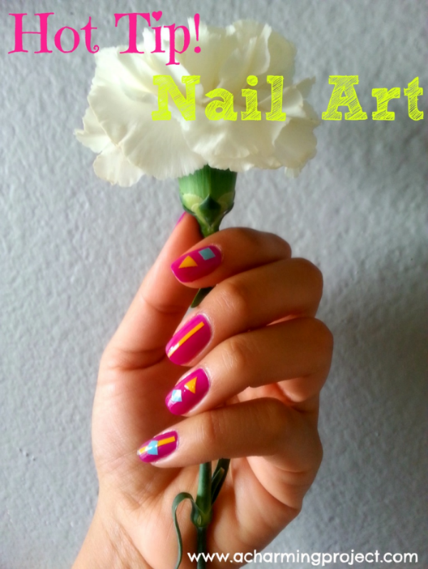 Hot tip nail art 1