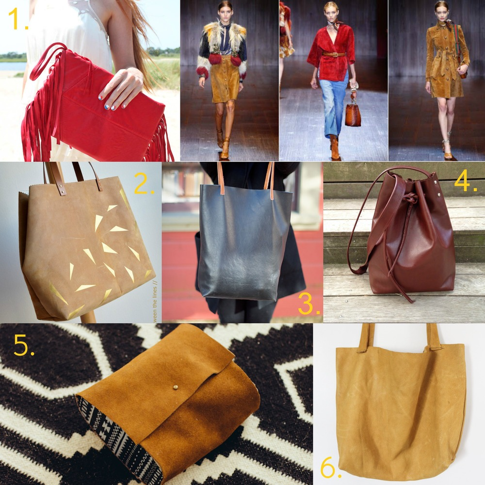 Retro Leather and Suede Trends for Spring 2015 DIY bags.jpg
