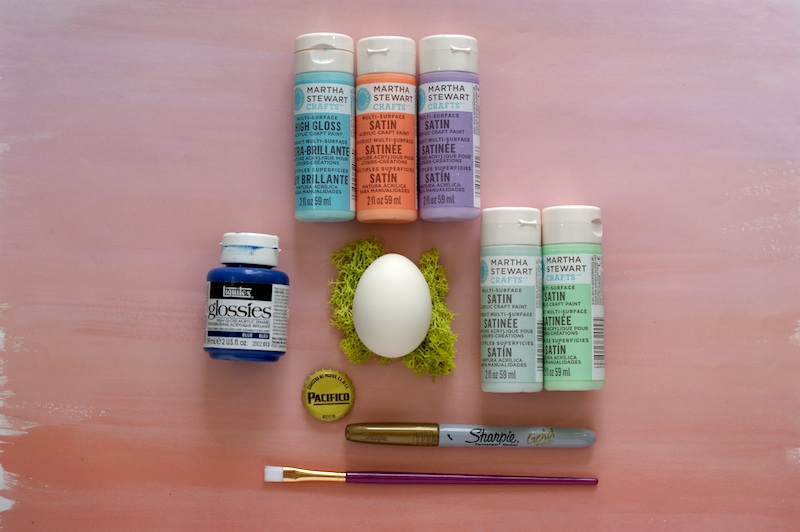 DIY Hand Painted Easter Eggs Inspired by UNICEF supplies