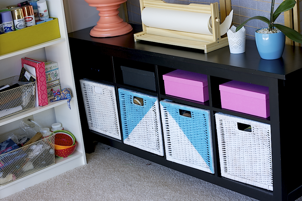 A Charming Project - craft space organization