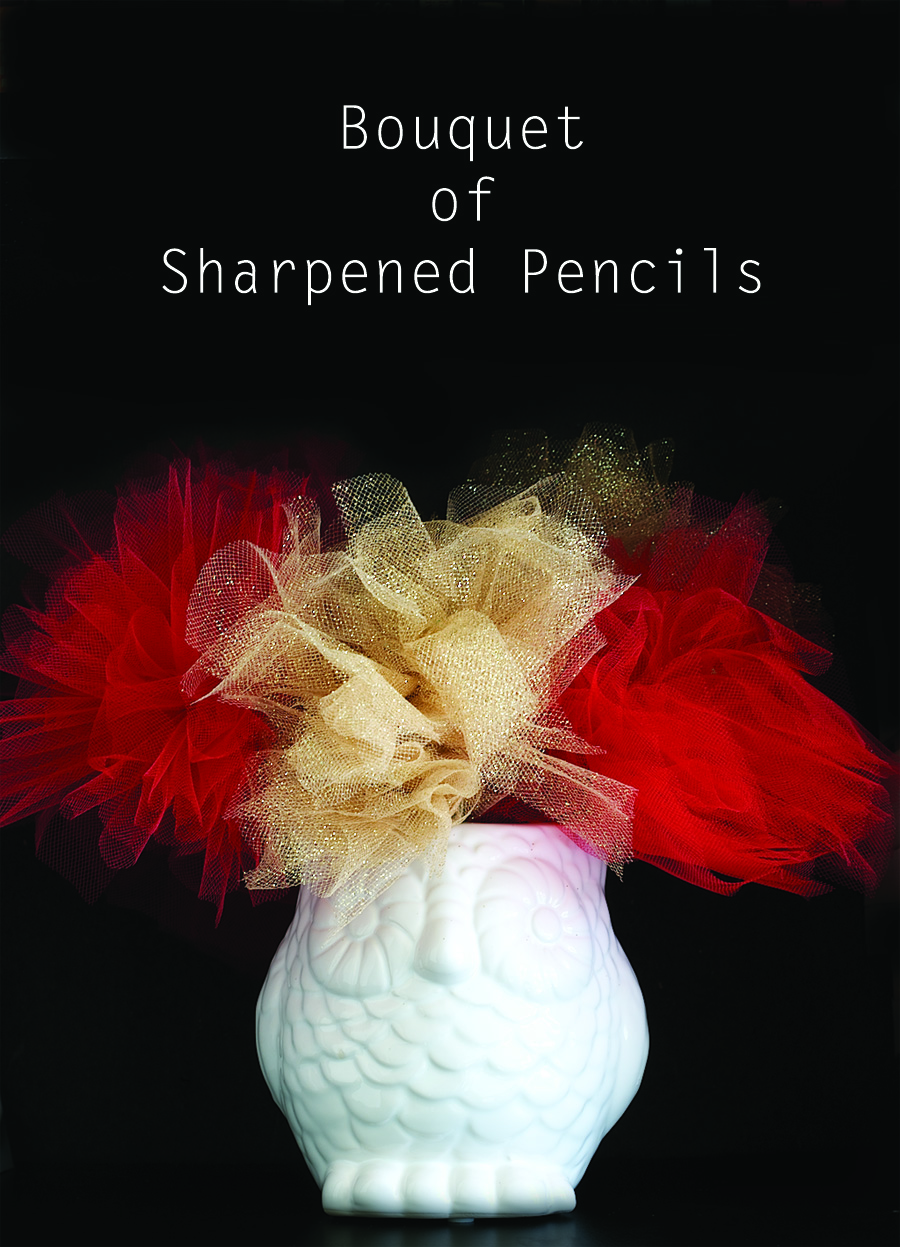 DIY Bouquet of Sharpened Pencils inspired by You've Got Mail Movie