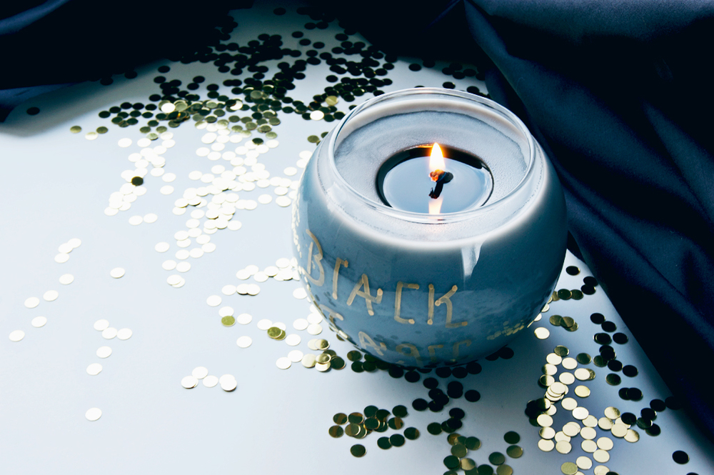 DIY Halloween Witch Soy Candle - Black Magic