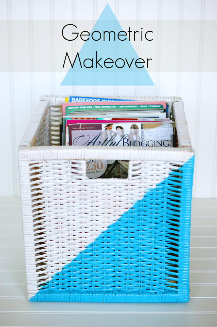 Ikea Storage basket makeover