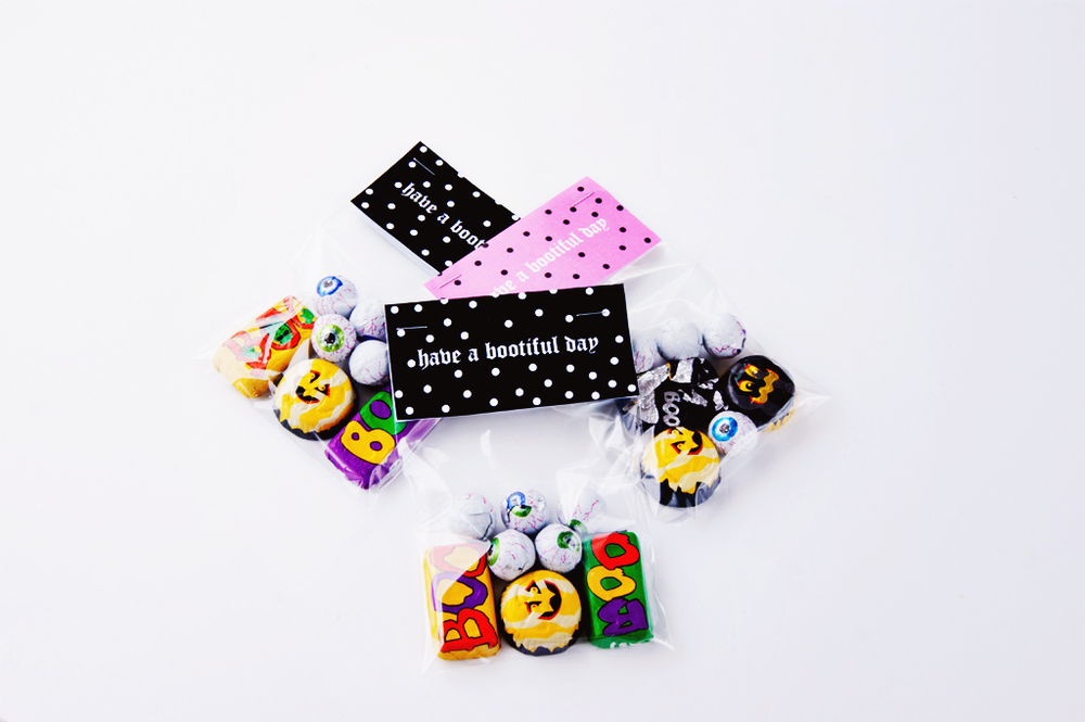 Free Printable DIY Halloween Candy Bag Label