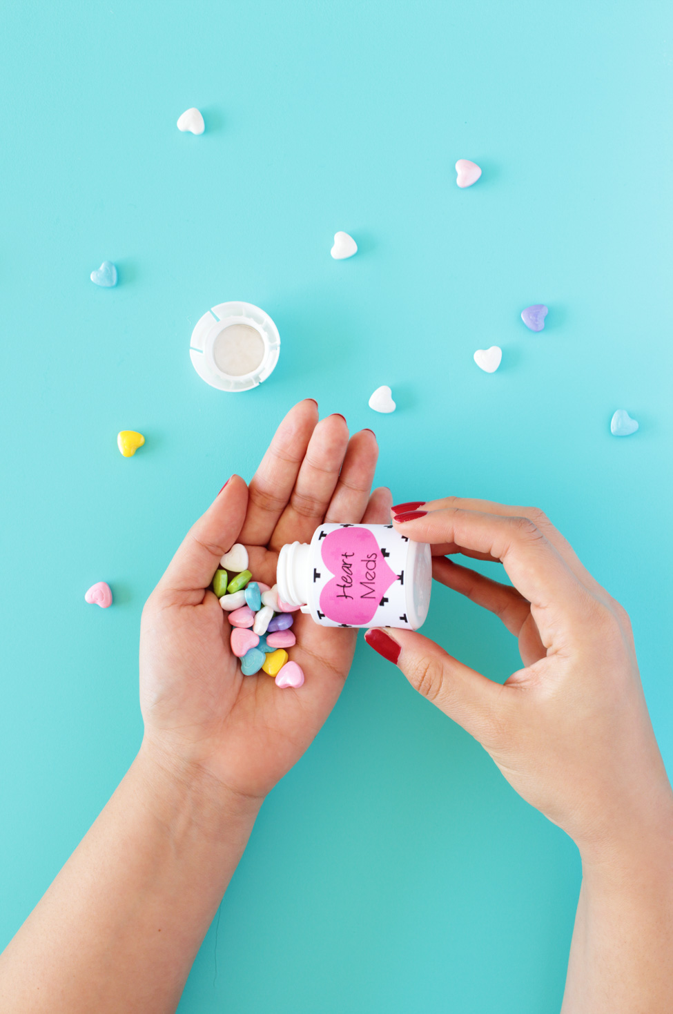 Free Printable Valentine Diy Pill Bottle Get Your Daily Dose Of