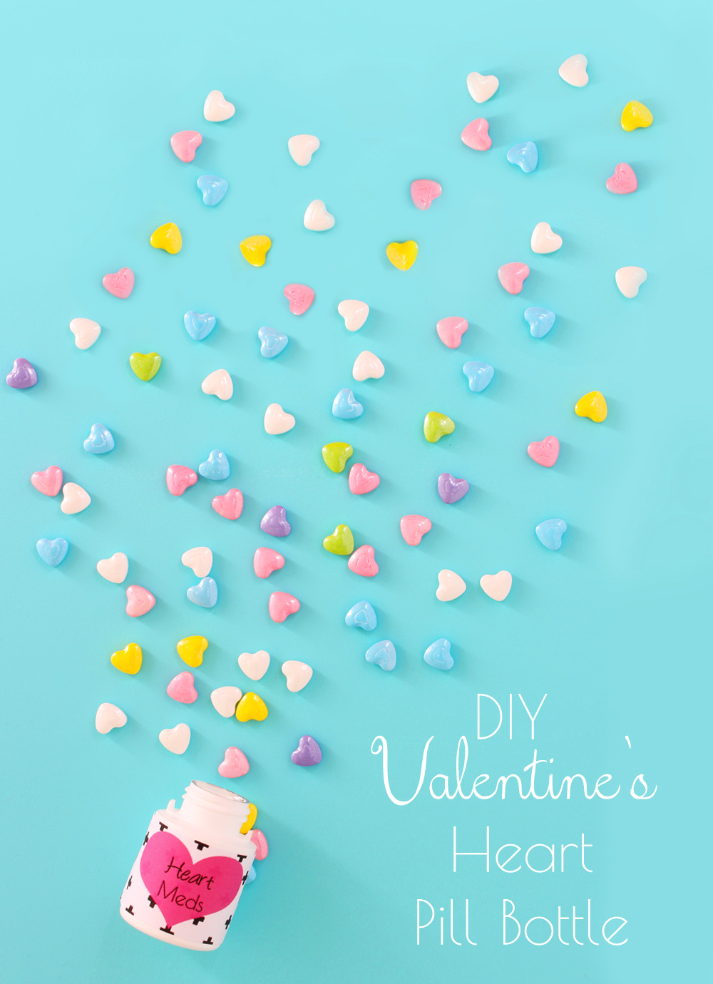 Free Printable! A dose of Valentine's Day for you friends or galpals!