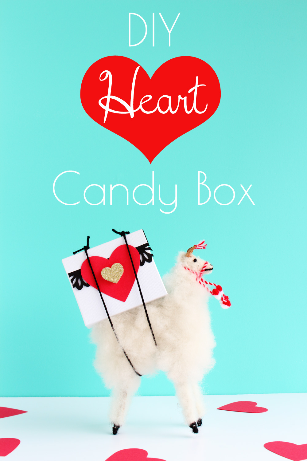 Valentine's Day DIY - Heart Candy Box