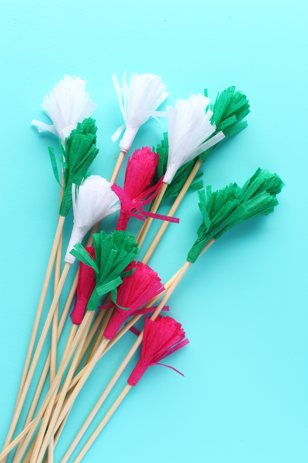 DIY Fringe Drink Stirrers