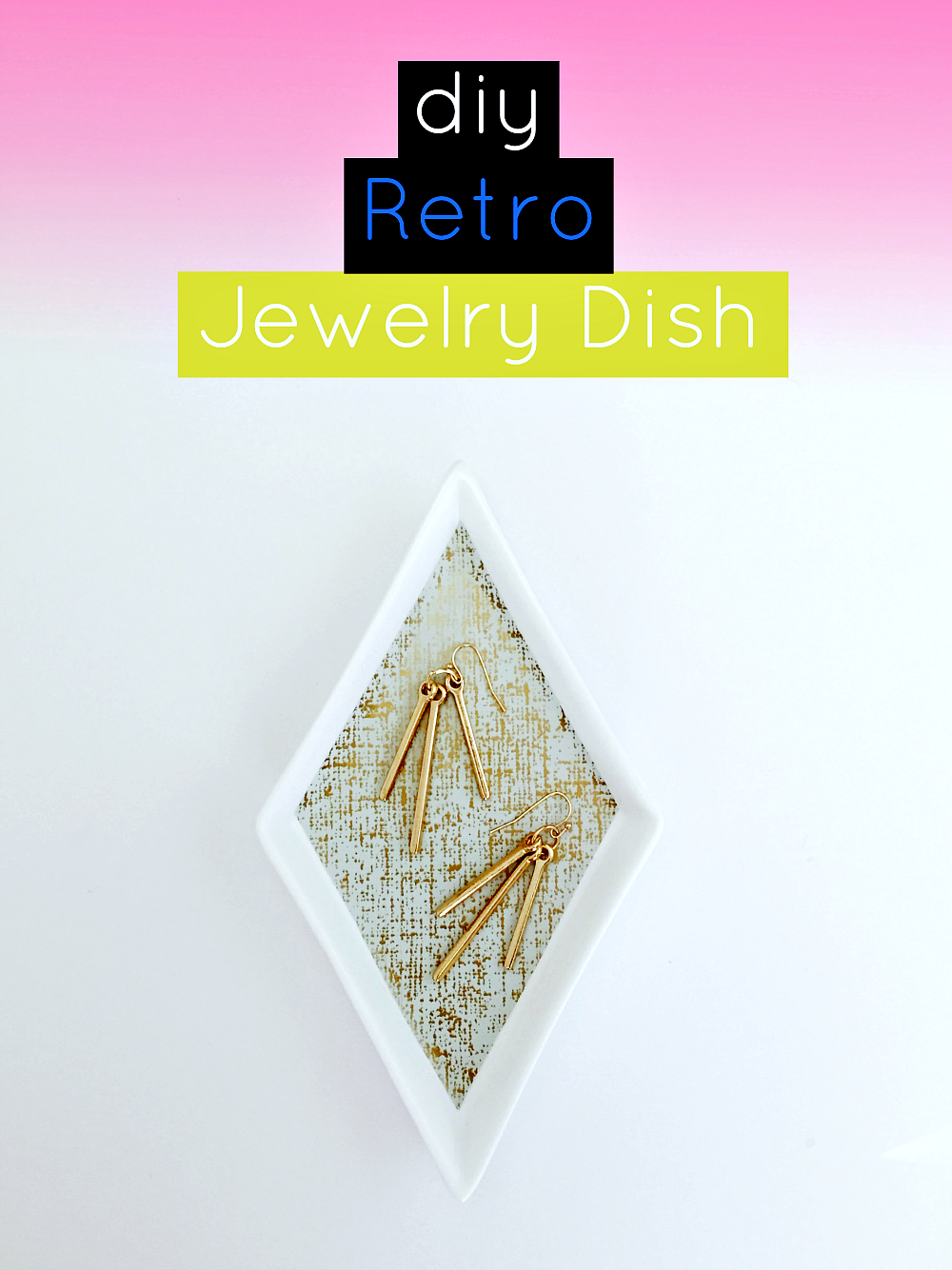 DIY Retro Jewelry Dish