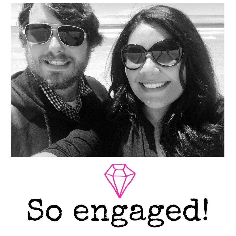 we're engaged! Enid & Mike