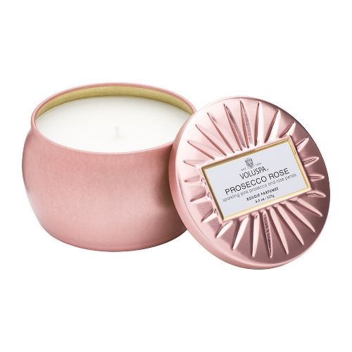 Vermeil Candle - Prosecco Rose