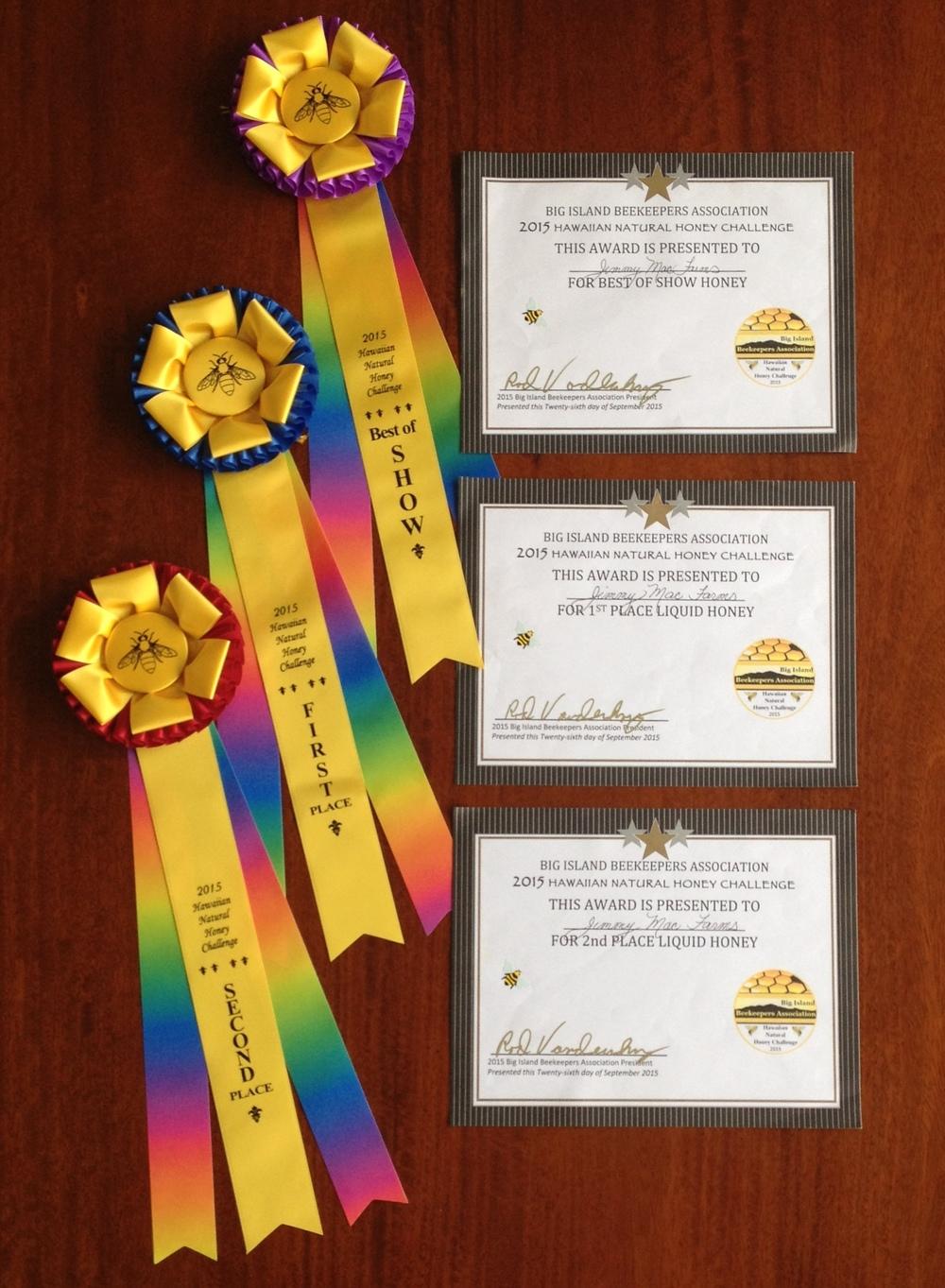 Pure Award Winning Raw Hawaiian Honey From The Pristine Big Island