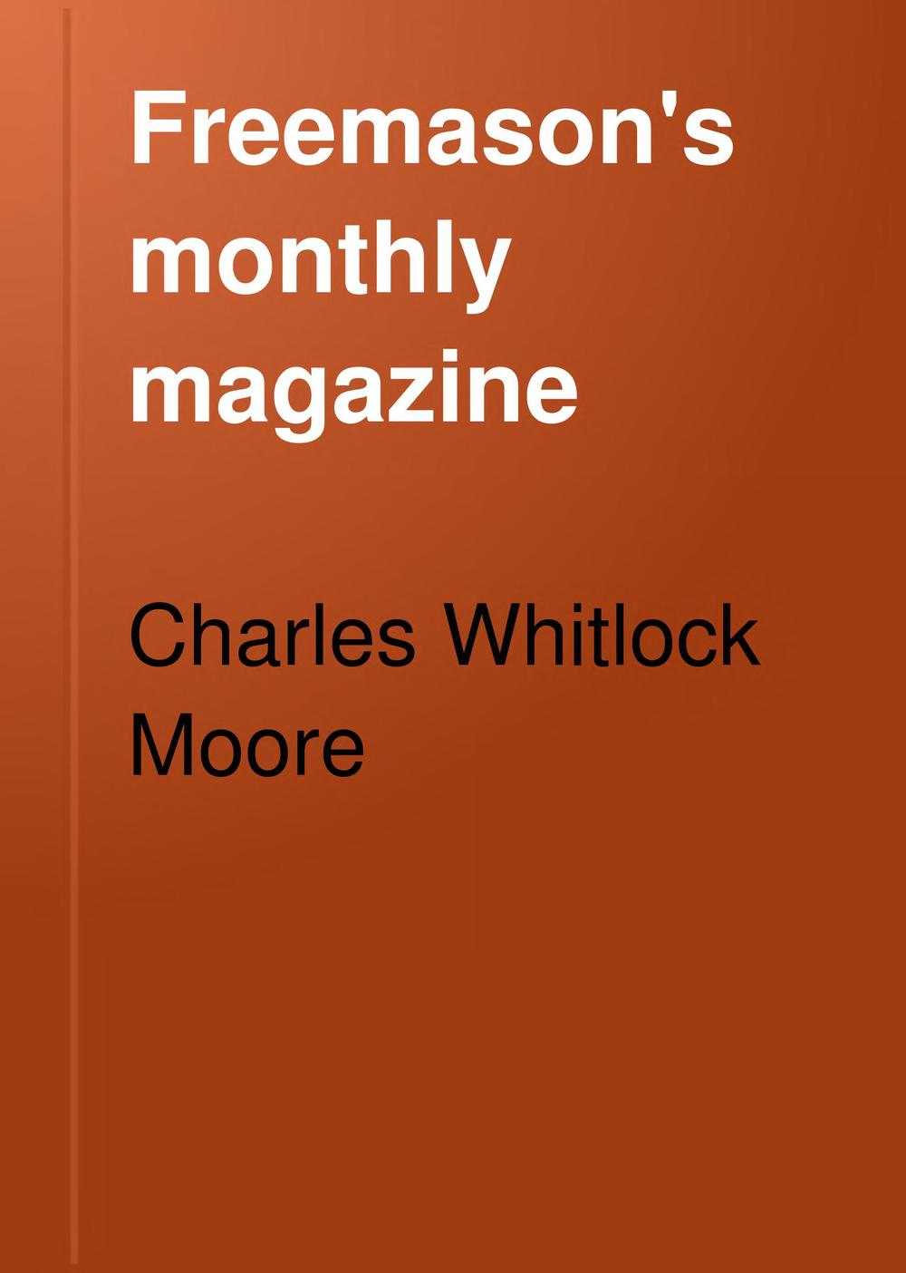 The Freemason's Monthly