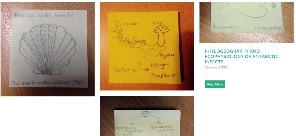 DeSciphered: Draw your research on a post-it