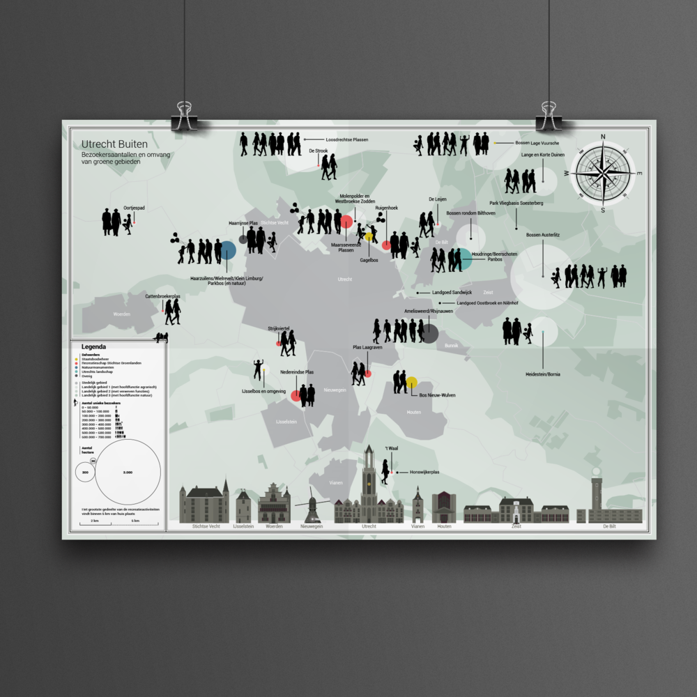 utrecht city map infographic studio lakmoes