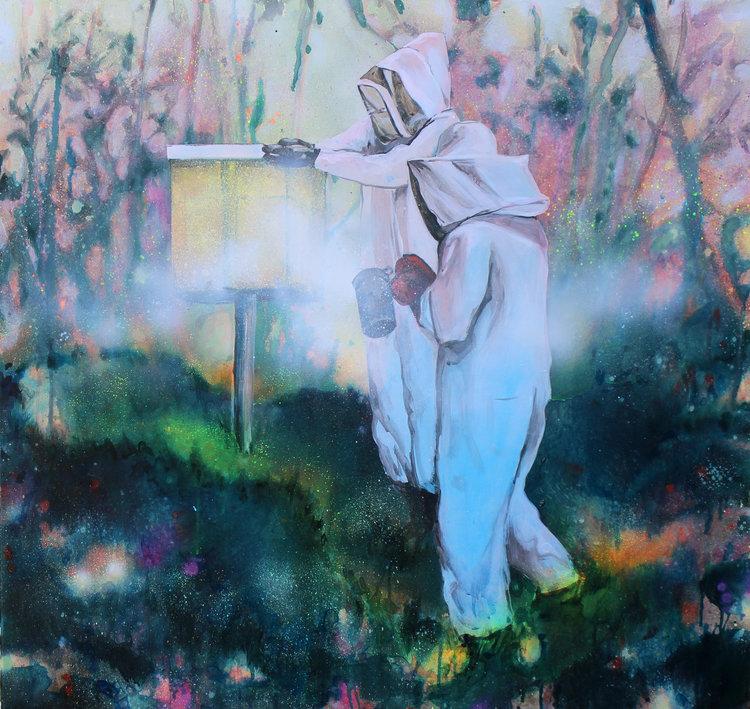 Harvest I, acrylic on canvas, 90x95cm, 2017.jpg