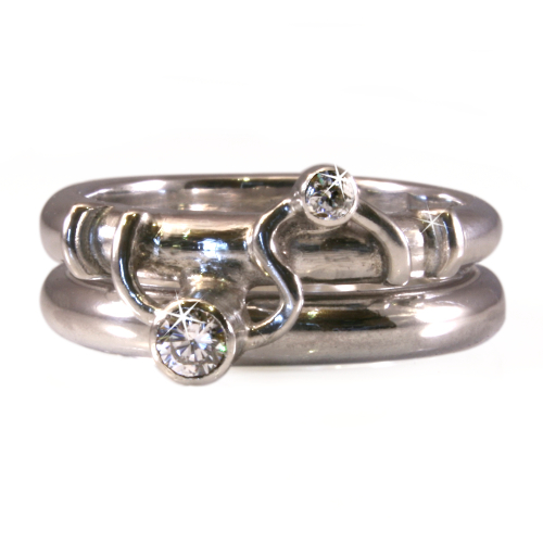 Grace Rings with a twist.