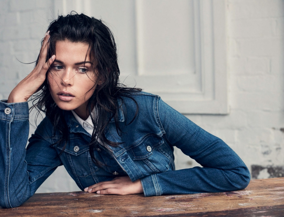 The New Denim | HARPERS BAZAAR