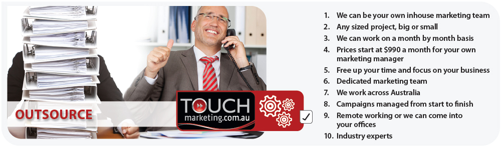 Touch Outsourced Marketing Sydney