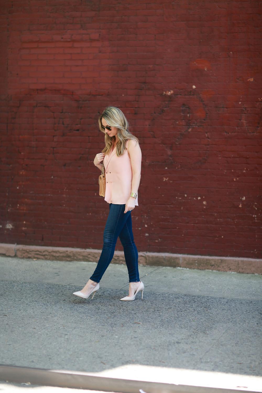 L'academie blouse, m. gemi shoes, j brand jeans