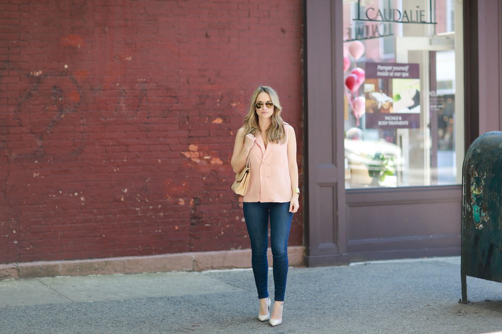 pretty pink l'academie blouse
