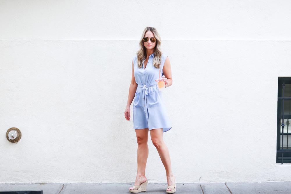 summer shirtdress