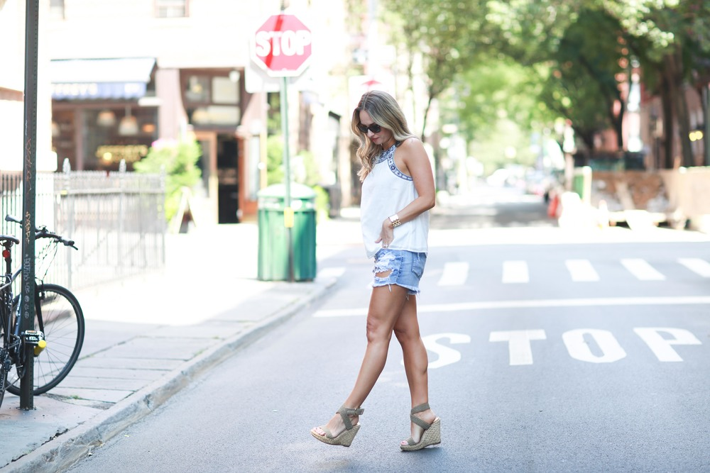 blank nyc denim cut offs