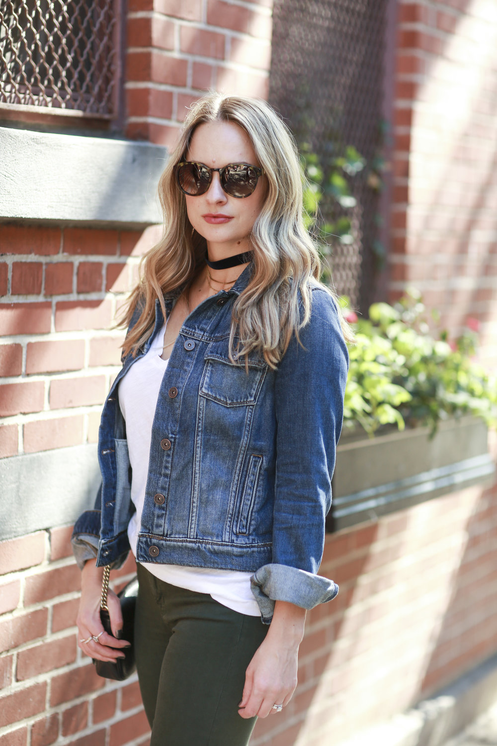 how to wear a denim jacket