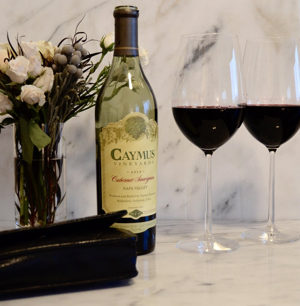 Caymus Napa valley cabernet