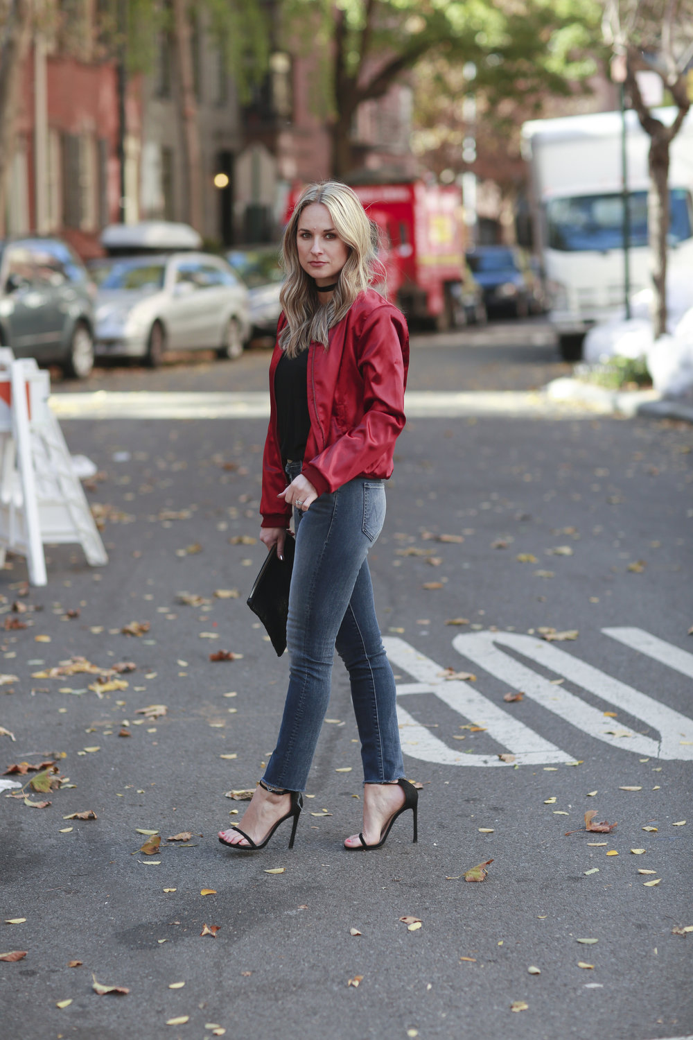 touche la x morgan stewart bomber jacket