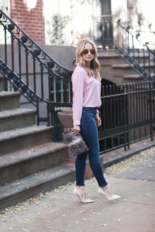 ASOS Pajama blouse