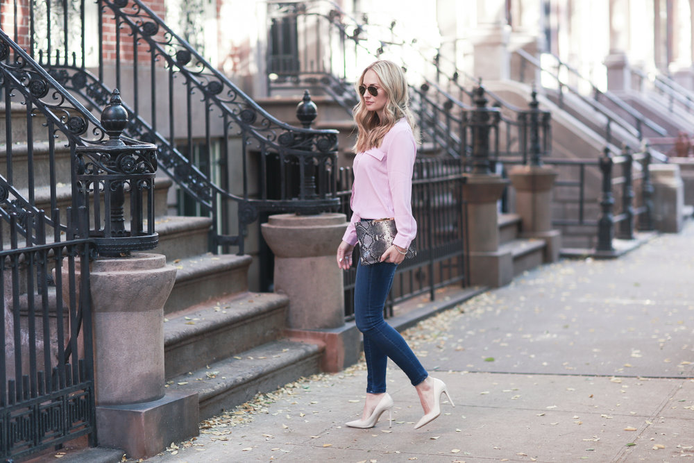 the best pink blouse
