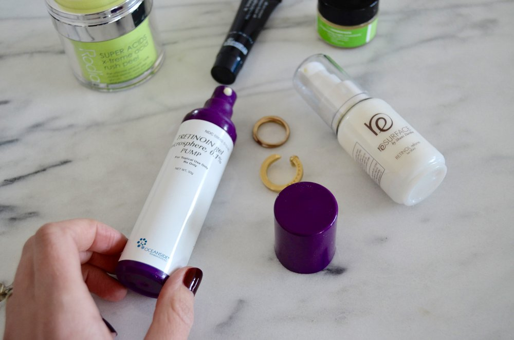 retinols for your skin