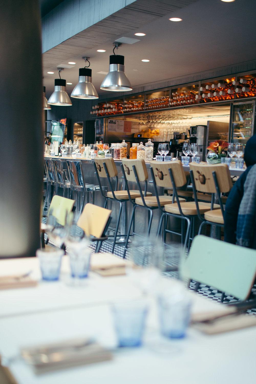 miss paradis restaurant in soho, nyc