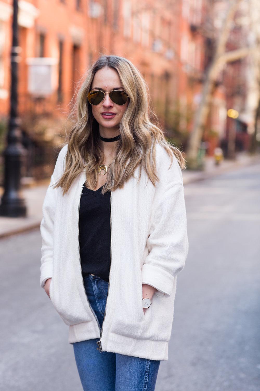 cozy sweater jacket