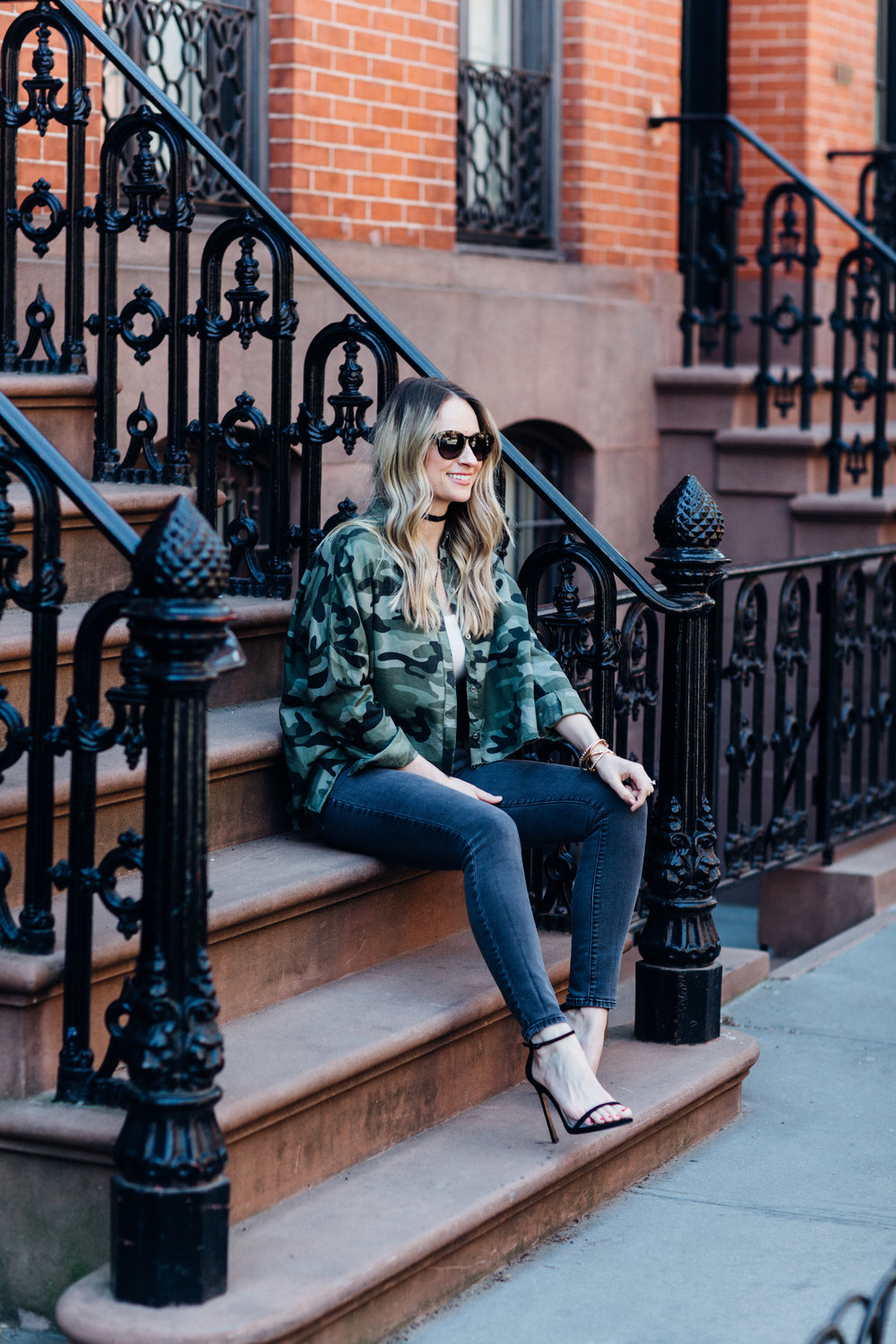 how to style camoflage