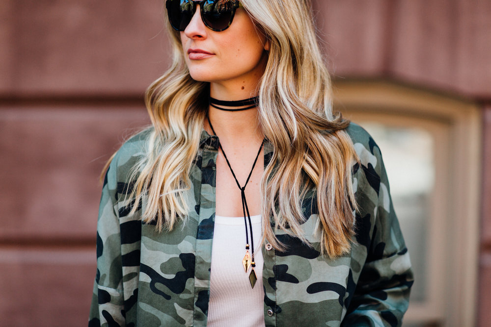 camoflage top