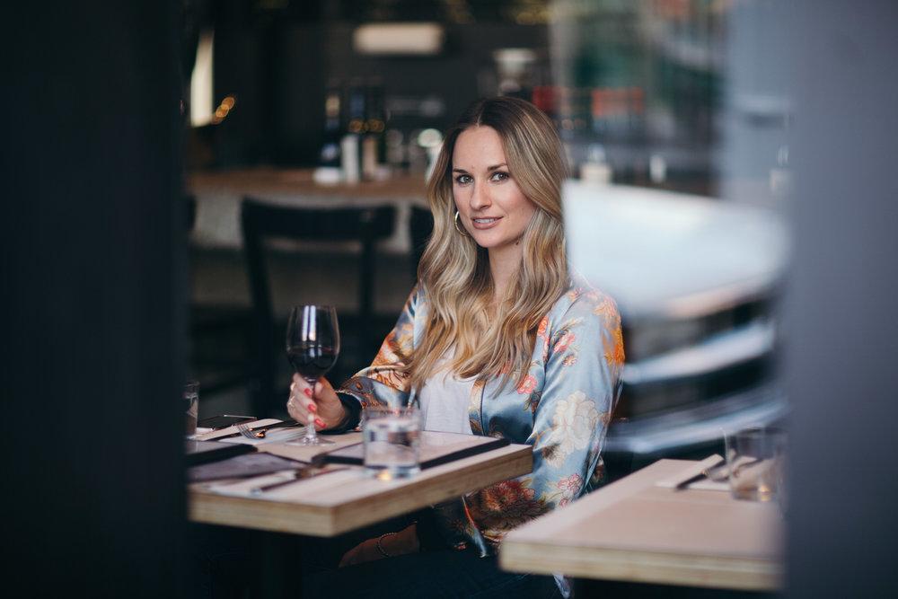 wine at tartinery