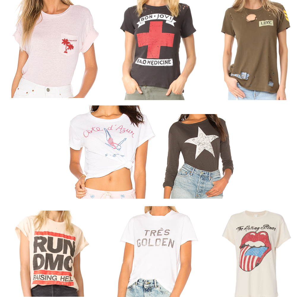 graphic t-shirts