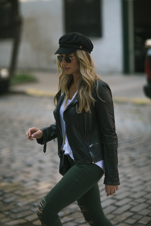 all saints leather moto jacket