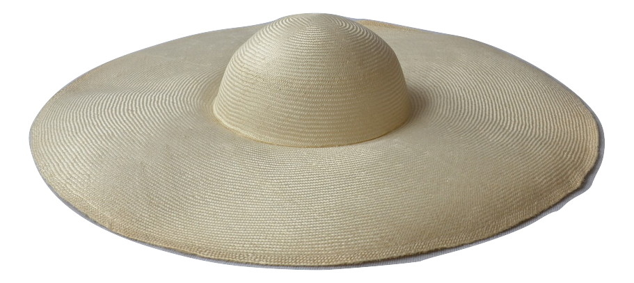 Low Crown P/Sisal Cap - Natural / Ivory only