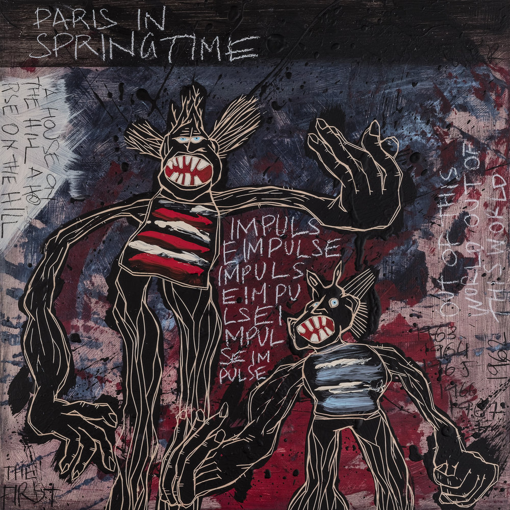 Paris In Springtime / The Freedom Paintings #14 (2018)