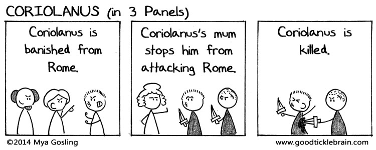 Three-Panel Plays, part 3 — Good Tickle Brain: A Mostly ...