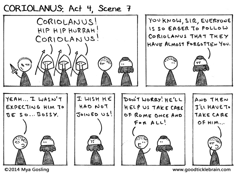 aufidius and coriolanus relationship with god